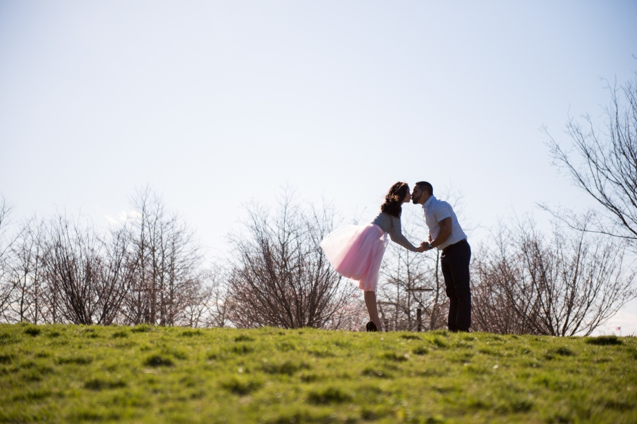 Liberty State Park Engagement Session with George Street Photography